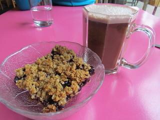 Blueberry Square and Maya Chai at Sweet Cherubim