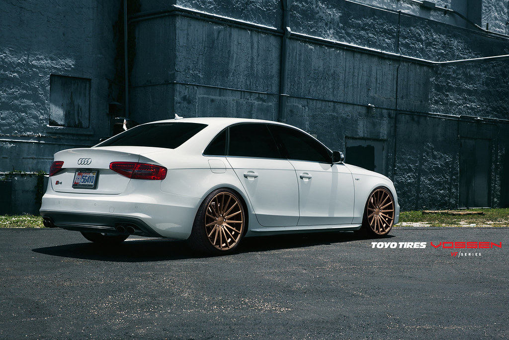 audi s4 committed to excellence vossen vfs2 satin. Black Bedroom Furniture Sets. Home Design Ideas