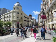 Puerta Real and Realjo region & Genil River region of Granada, Spain