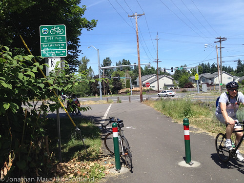 North end of Gresham-Fairview Trail