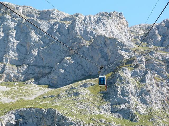 Teleférico de Fuente Dé (Cantabria)