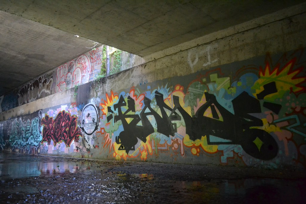 KAMO, BTR, Graffiti, the yard, chill spot, east bay