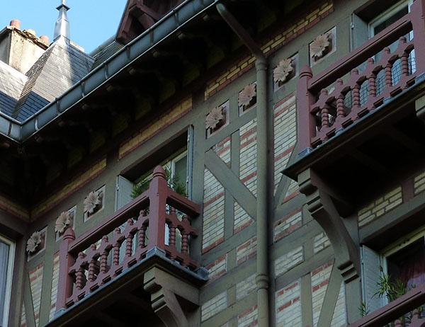 balcons et fleurs