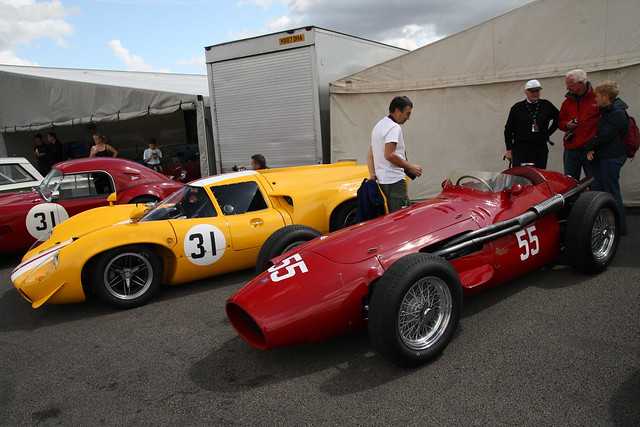 The Jack Brabham/John Cooper Trophy Races for HGPCA Pre 66 Grand Prix Cars.