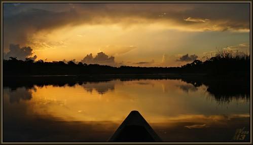 park reflection nature water clouds sunrise golden sony bayou bow vista pasadena canoeing paddling a57 bayareapark armandbayou wanam3 sonya57