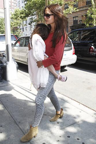 current elliott leopard print jeans katie holmes