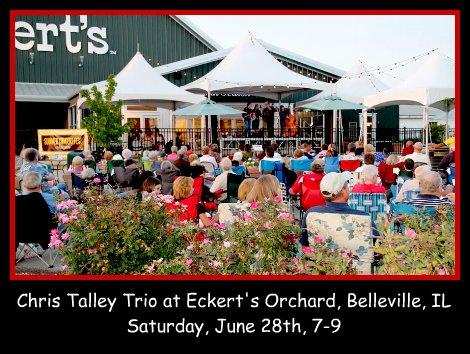 Chris Talley Trio at Eckerts 6-28-14