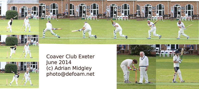 Cricket: Westbrick vs Luckham Oaks June 2014 Coaver Club Exeter