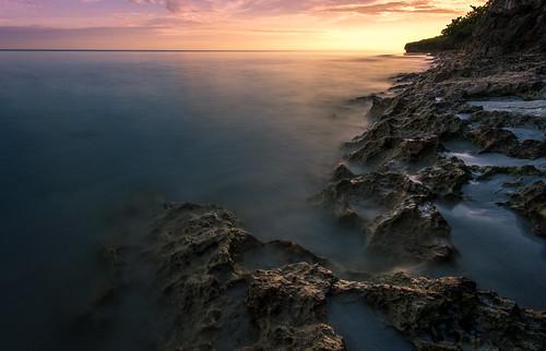 ocean longexposure sea sunrise canon landscape cuba varadero 6d canon1740mm