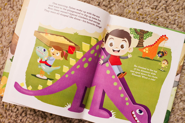 cute & little blog | dylan 2-year birthday gifts | hallmark hmk customized adventure book, winnie the pooh interactive story buddy