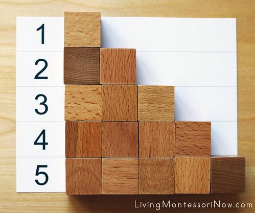 1-5 Number Stair
