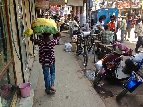 streets of Delhi... wonder cement?