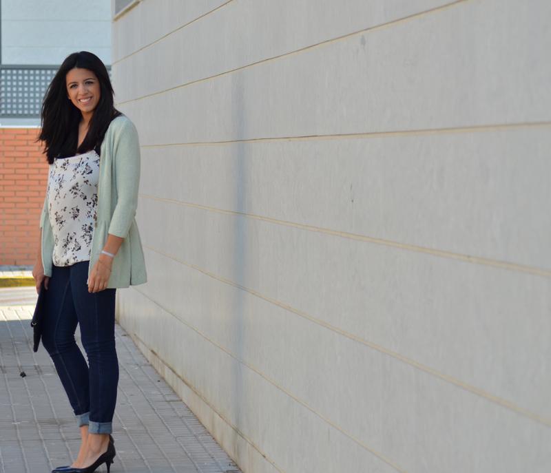 florenciablog working girl mint inspiration fashion blogger spain clutch zara look  (2)