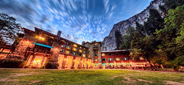 The Ahwahnee at Dusk