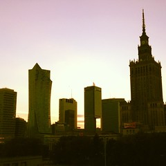 #sunset broken by Warsaw rising, lifted by distinct culture, kindness and tenacity.