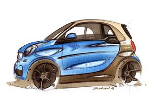 smart fortwo, C453, Design