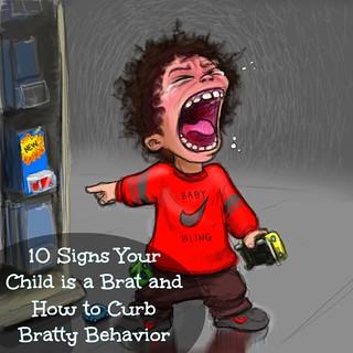 child is a brat