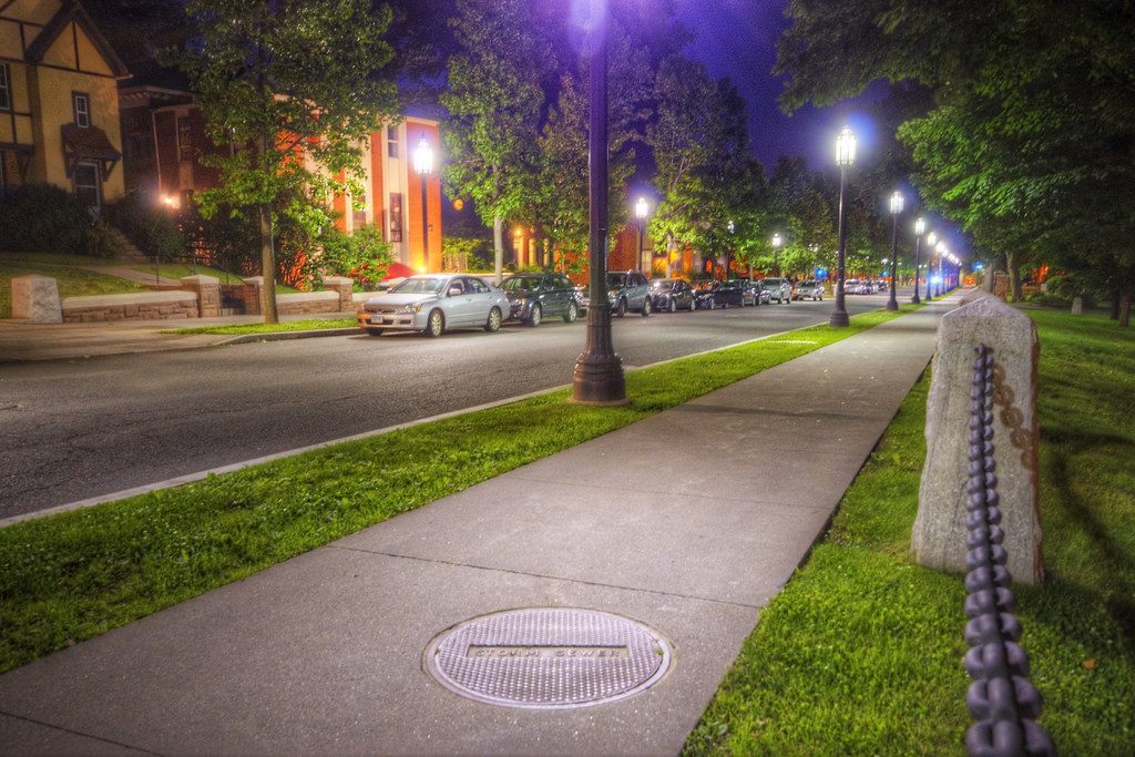 Vernon Street Night