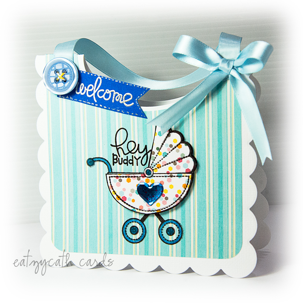 blue bib welcome