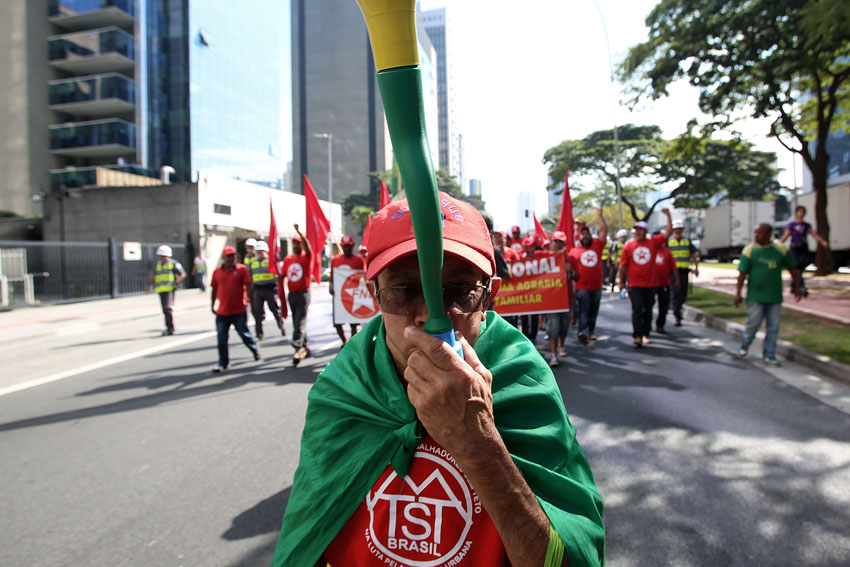 (19)BRASIL-SAO PAULO-MUNDIAL 2014-PROTESTA