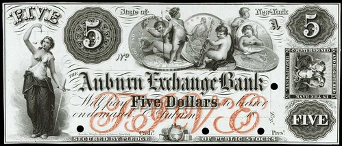 Auburn Exchange Bank $5