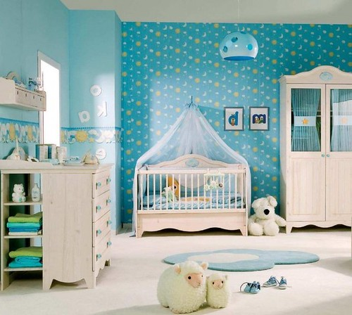 C mo decorar la habitaci n de un beb var n blogicasa blogicasa - Bedroom design for baby boy ...