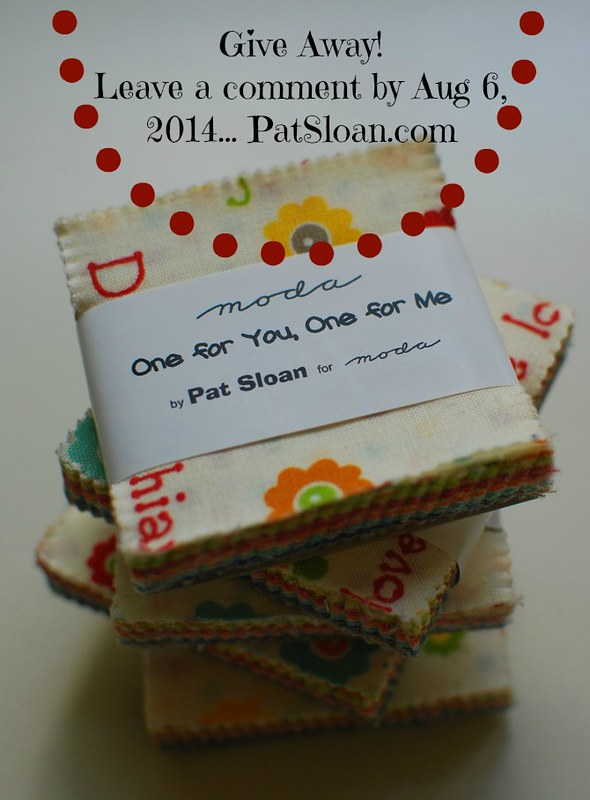 pat sloan moda candy giveaway