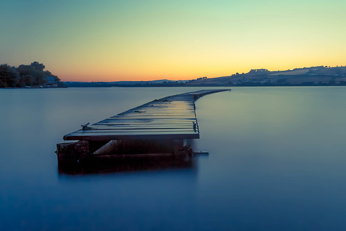 blue beauty river coast jetty devon le minimalistic riverteign leefilter coombecellars bigstopper