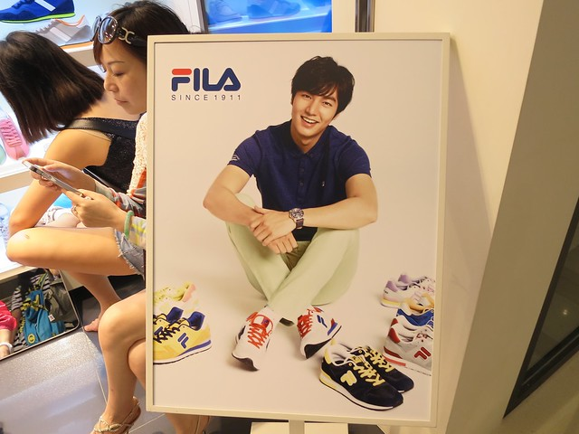 Lee Min Ho for Fila
