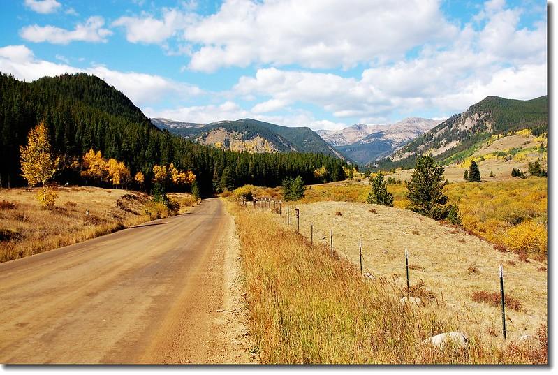 E. Portal road (Rollins Pass) 2