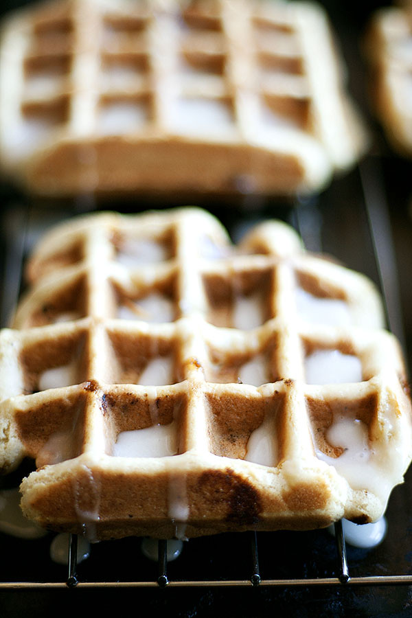 Sugar Cookie Waffles #nationalsugarcookieday