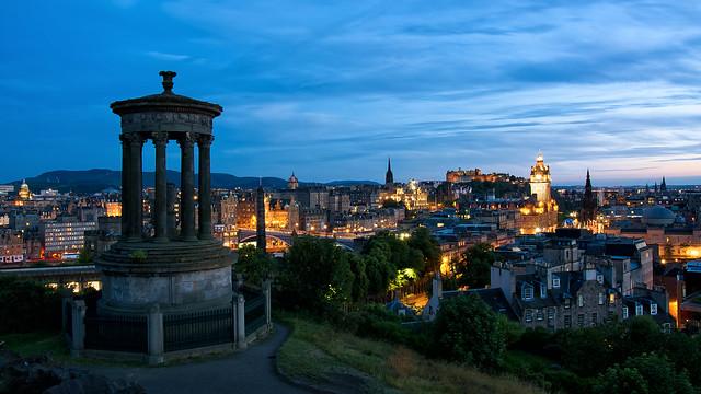 愛丁堡夜景