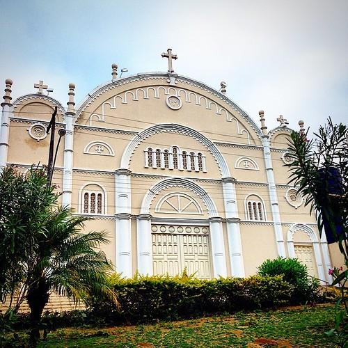 Catedral #catedral #igreja #church #santuário #mesquita #templo #cruz #fé #caminhosdafé #cristã #capela #católico #cruz #jaguacuara #itabuna #jaguacuara #bahia #brasil