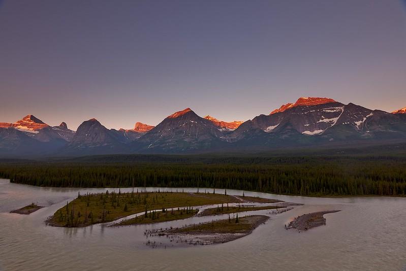 Sunrise Fryatt - Jasper National Park