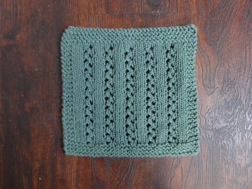 Christmas Lace Dishcloth