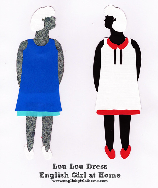 Lou Lou Dress Paper Dolls