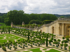 Versailles orchard and 100-step staircase