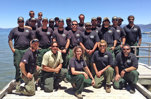The Tallac Hotshots are a valuable resource to the Lake Tahoe community by carrying out initial attack for wildfires that occur in and around the Lake Tahoe Basin. (U.S. Forest Service)