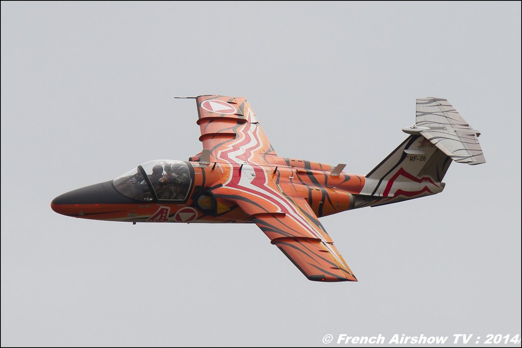 SAAB 105, Austria Meeting Aerien BA-133 Nancy Ochey 2014