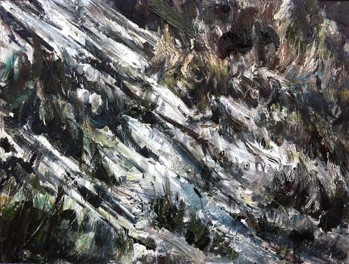 6.和丽斌作品《荒原.28》布面油画 200×150cm 2012年