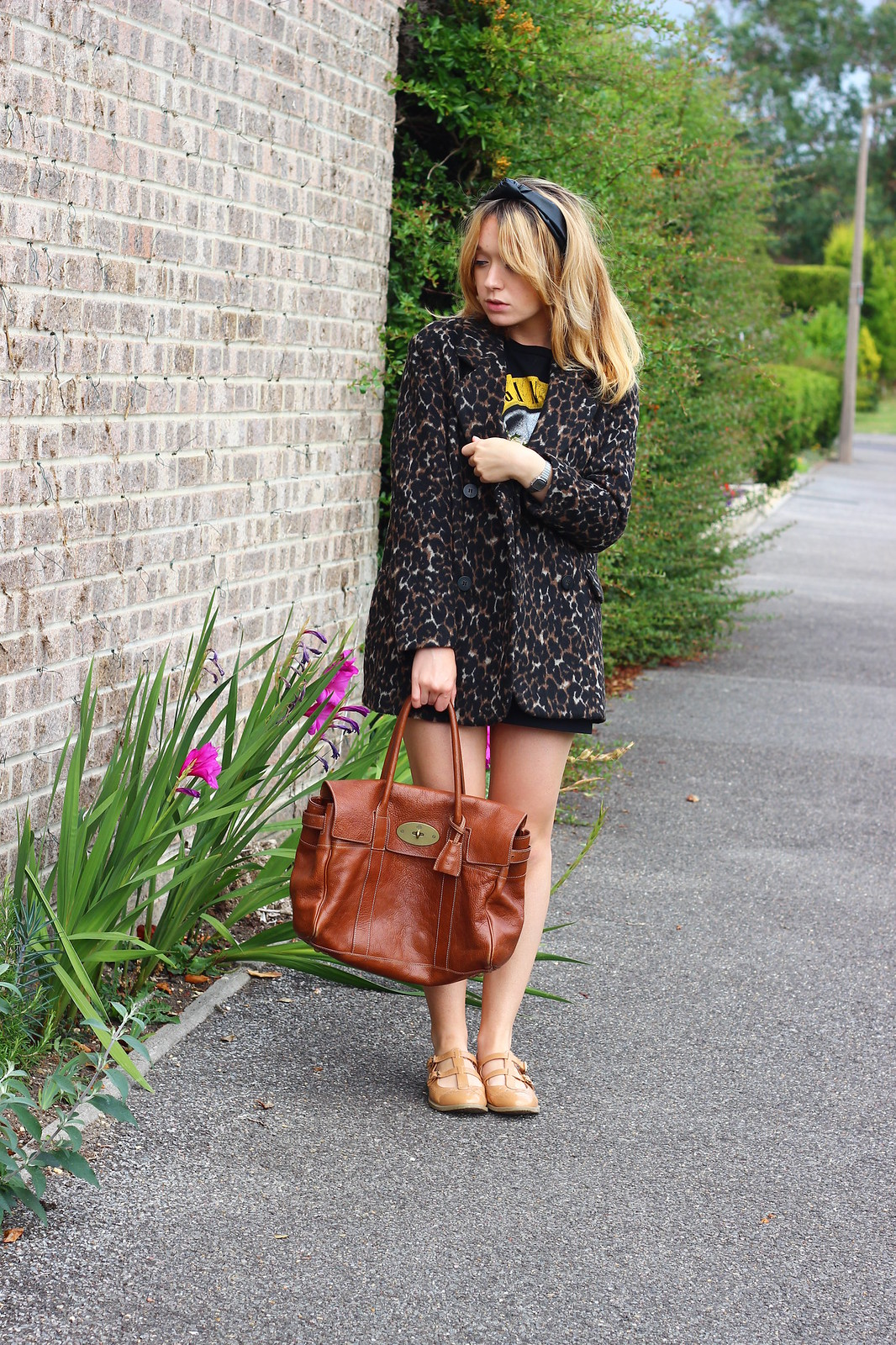 3leopardprintjacket, leopard print jacket h&m, outfit, retro, style