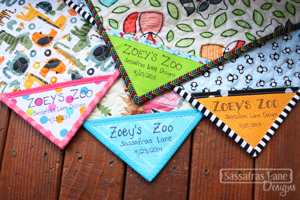 Zoey's Zoo Labels