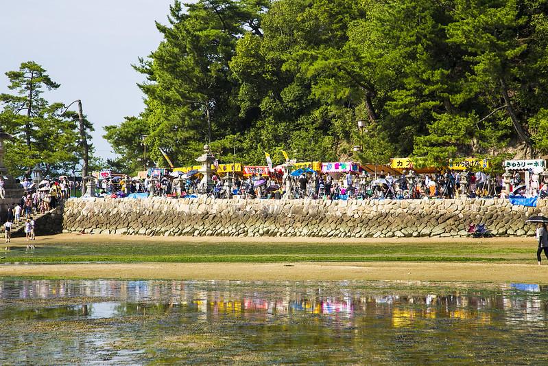 宮島水中花火大会2014Miyajima Water Fireworks Display(大鳥居前)87