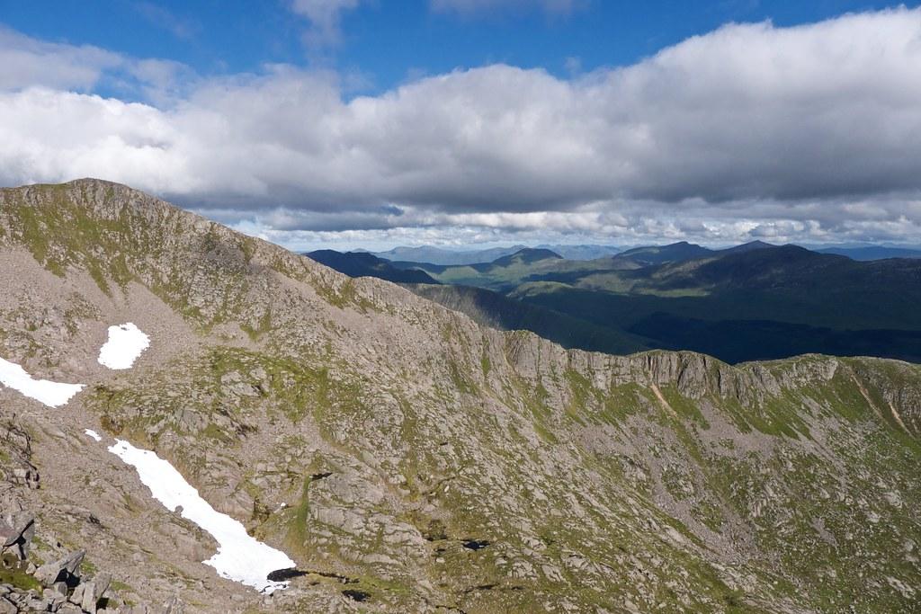 North ridge of Ben Starav