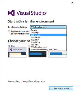 Visual Studio familiar environment