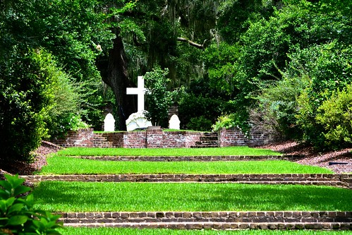 2014 afternoon chapel cemetery clear landscape woods trees southcarolina summer sunny travel historic outdoor nature forest tree catholic church churches day