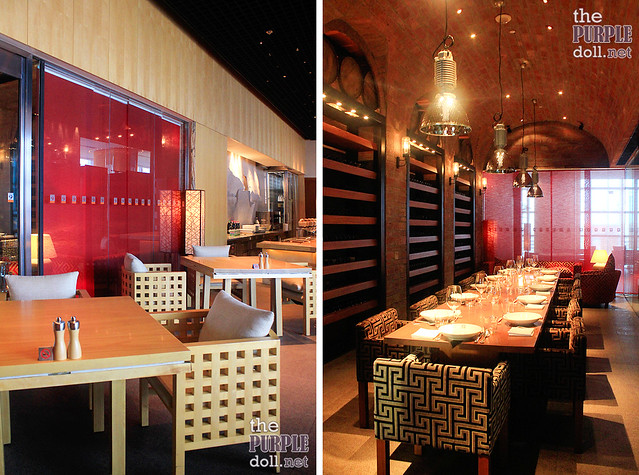 Main Dining Area and Private Dining Room at Mezza9 Macau