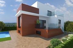 Chalets independientes de estilo moderno, con las últimas y mejores calidades del mercado. Les atenderemos en su agencia inmobiliaria de confianza Asegil en Benidorm  www.inmobiliariabenidorm.com