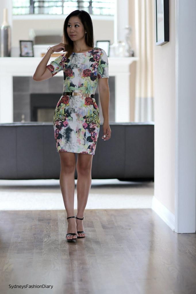 ASOS Floral Dress 3
