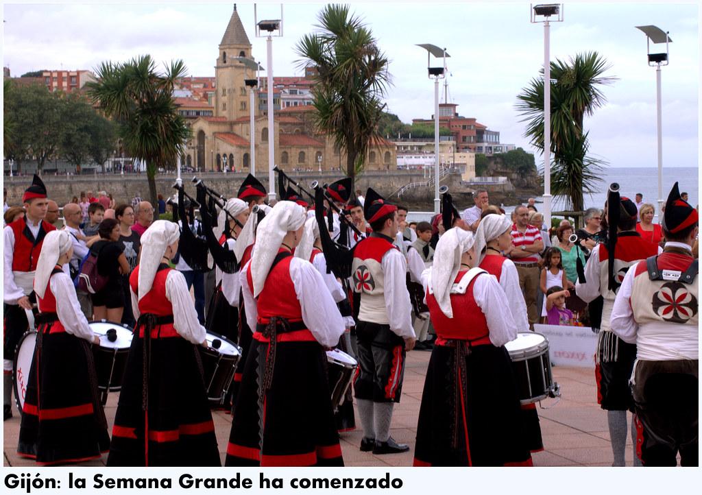 Calles de Gijón: unas fotos